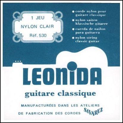 LEONIDA Струны для классических гитар SAVAREZ 530 (29-33-41-29-34-42)