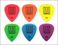 Медиаторы Dunlop 4620 Tortex III