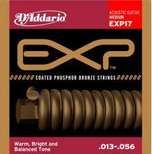 Струны D'Addario EXP17 Phosphor Bronze