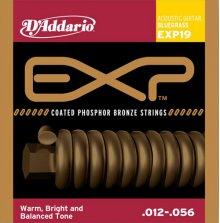 Струны D'Addario EXP19 Phosphor Bronze