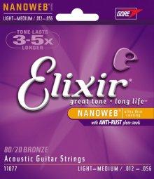 Струны Elixir Nanoweb 11077