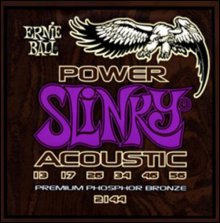 Струны Ernie Ball ACOUSTIC POWER SLINKY 2144