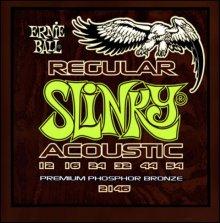 Струны Ernie Ball ACOUSTIC REGULAR SLINKY 2146