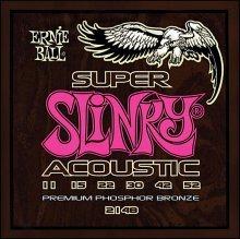 Струны Ernie Ball ACOUSTIC SUPER  SLINKY 2148