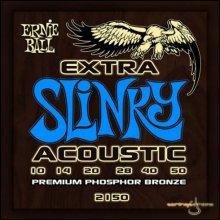 Струны Ernie Ball ACOUSTIC EXTRA SLINKY 2150
