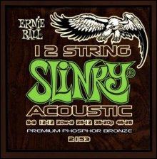 Струны Ernie Ball ACOUSTIC 12-ST SLINKY 2153