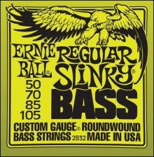 Струны Ernie Ball BASS  REGULAR SLINKY 2832