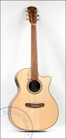 Гитара акустическая Dowina Danubius GACE-S