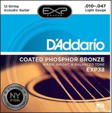 Струны D'Addario EXP38 Phosphor Bronze