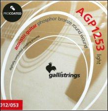 Струны GALLISTRINGS ProCoated Phosphor bronze AGP1253