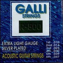 Струны GALLISTRINGS SILVERPLATED R500