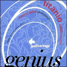 Струны GALLISTRINGS GENIUS TITANIO GR45