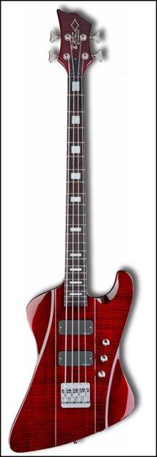 Бас-гитара DBZ HFR4FM-TR Hailfire Bass FM Trans Red
