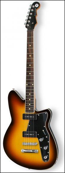 Электрогитара REVEREND Jetstream 290 3 Tone Burst
