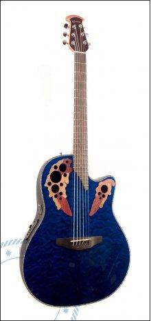 Гитара акустическая OVATION CE44P-8TQ Celebrity Elite Plus
