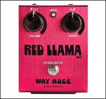 Педаль DUNLOP WHE203 Red Llama Overdrive