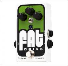 Педаль PIGTRONIX FAT Analog Drive Distortion