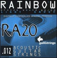 Струны GALLISTRINGS RAINBOW RA20