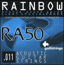 Струны GALLISTRINGS RAINBOW RA50