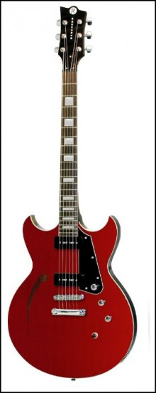 Электрогитара REVEREND Manta Ray 290 Wine Red