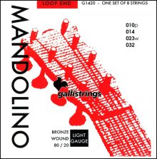 Струны GALLISTRINGS MANDOLINO G1420 BRONZE
