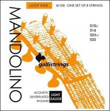 Струны GALLISTRINGS MANDOLINO M158 SILVERPLATED