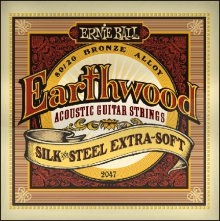 Струны Ernie Ball EARTHWOOD SILK & STEEL 2047