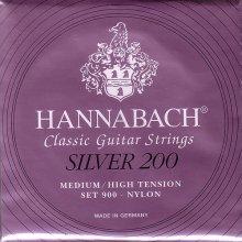 Струны Hannabach Silver 200 900 MHT