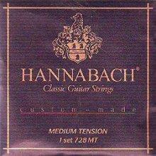 Струны Hannabach Custom-made 728 MT