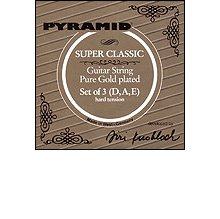 Струны Pyramid Super Classic Pure Gold 380