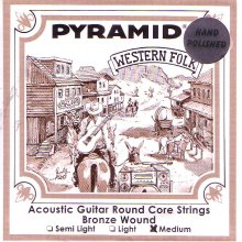 Струны Pyramid Western Folk Polished PR328 100