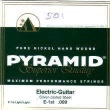 Струны Pyramid El-guitar Pure Nickel    D501