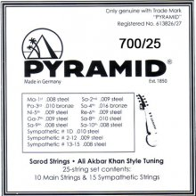 Струны Pyramid Sarod 700/25