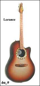 Гитара Lorance 6A