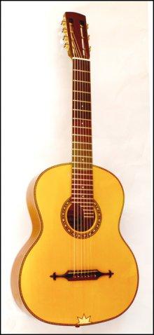 Гитара семиструнная мастера Шишкина а-ля-рюс