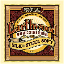 Струны Ernie Ball EARTHWOOD SILK & STEEL 2045