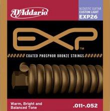 Струны D'Addario EXP26 Phosphor Bronze