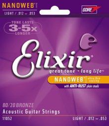 Струны Elixir Nanoweb 11052