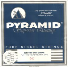 Струны Pyramid Pure Nickel Bass 957100