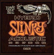 Струны Ernie Ball ACOUSTIC HYBRID SLINKY 2151