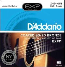 Струны D'Addario EXP11 80/20 Bronze