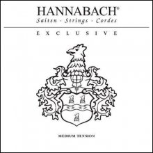 Струны Hannabach Exclusive Blue MT