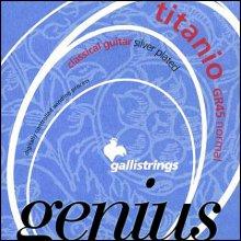 Струны GALLISTRINGS GENIUS TITANIO GR45