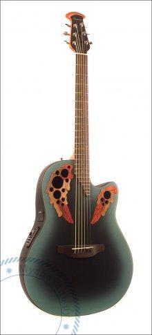 Гитара акустическая OVATION CE44-RBB Celebrity Elite Mid Cutaway Reversed Blueburst