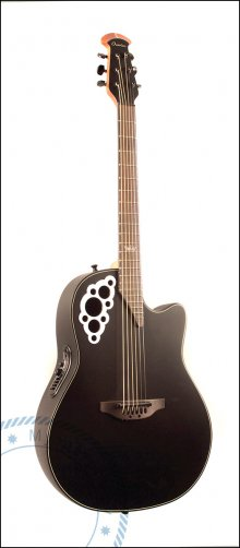 Гитара акустическая OVATION 2078KK-5S Elite Signature Kaki King