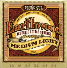 Струны Ernie Ball BRONZE ACOUSTIC 2003