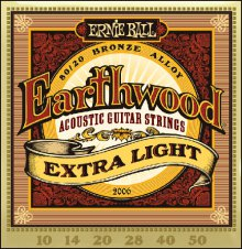 Струны Ernie Ball BRONZE ACOUSTIC 2006