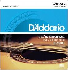 Струны D'Addario EZ910 AMERICAN BRONZE