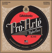 Струны D'Addario EJ45 Pro Arte