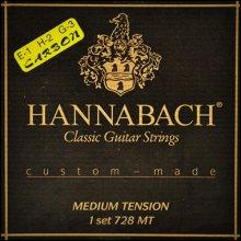 Струны Hannabach Custom-made 728 MTC